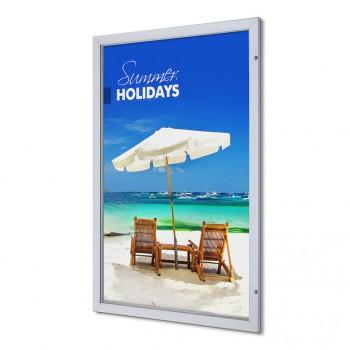 Abschließbarer Plakatschaukasten Premium (101,6x152,4)
