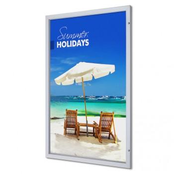 Abschließbarer Plakatschaukasten Premium (120x180)