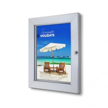 Abschließbarer Plakatschaukasten Premium (DIN A3)