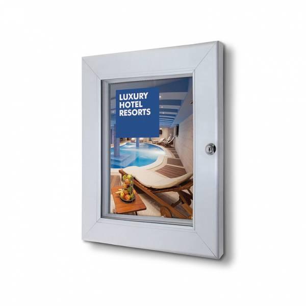 Abschließbarer Plakatschaukasten Plus (DIN A4)