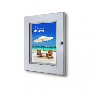 Abschließbarer Plakatschaukasten Premium (DIN A4)