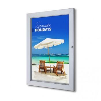 Abschließbarer Plakatschaukasten Premium (50,8x76,2)
