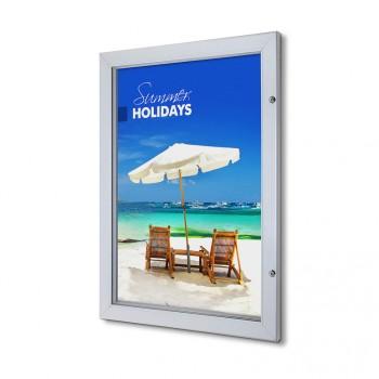 Abschließbarer Plakatschaukasten Premium (DIN A1)