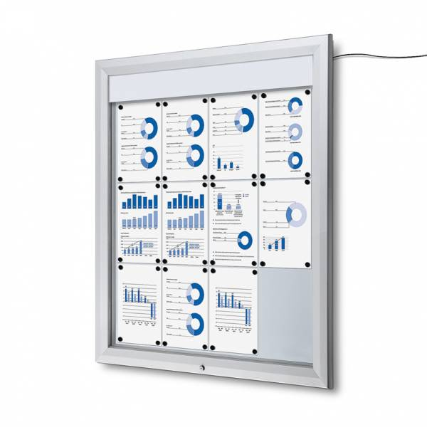Schaukasten Außen LED  (12xA4)