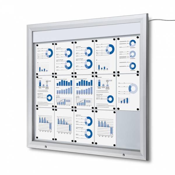 Schaukasten Außen LED -  Schaukasten Beleuchtet