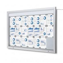 Schaukasten Außen LED  (21xA4)