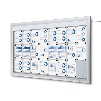 Schaukasten Außen Premium 24xA4 LED