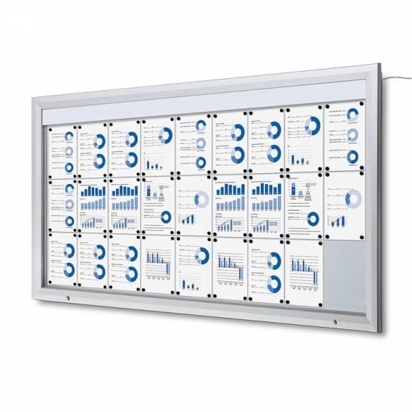 Schaukasten Außen LED  (27xA4)