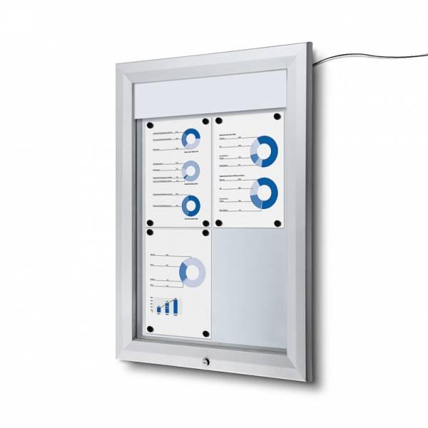 Schaukasten Außen LED  (4xA4)