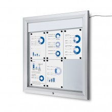 Schaukasten Außen LED  (6xA4)