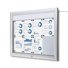 Schaukasten Außen LED  (8xA4)