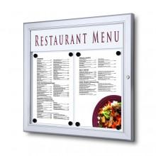 Schaukasten für Speisekarten 2xA4 quer