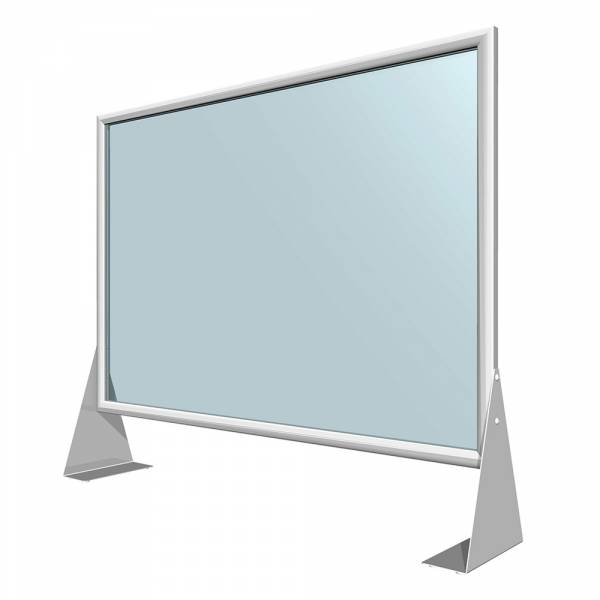 Premium Schutzwand aus Acrylglas 100x70 cm