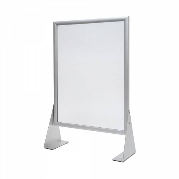 Slide IN frame protective wall, plexiglass 70x100cm