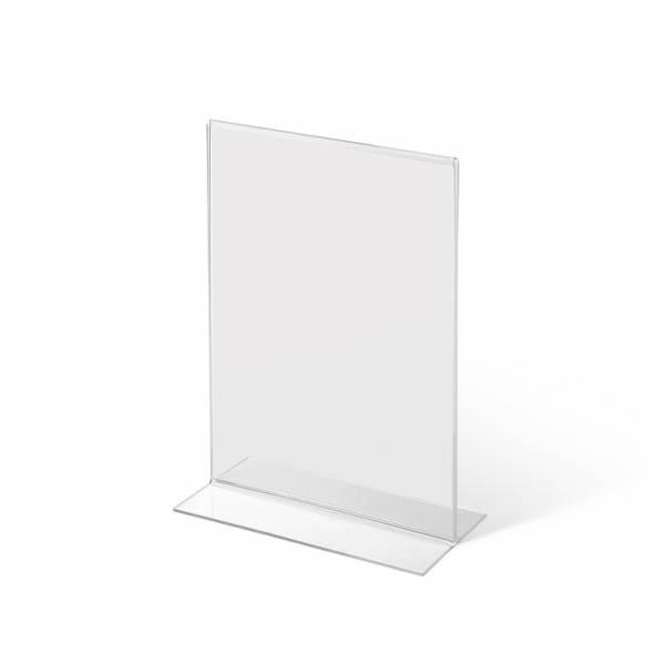 Acrylaufsteller in -Form DIN A6 hoch
