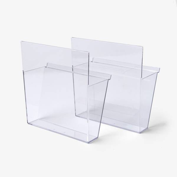 Prospektablagen VISION Kunststoff, DIN A4