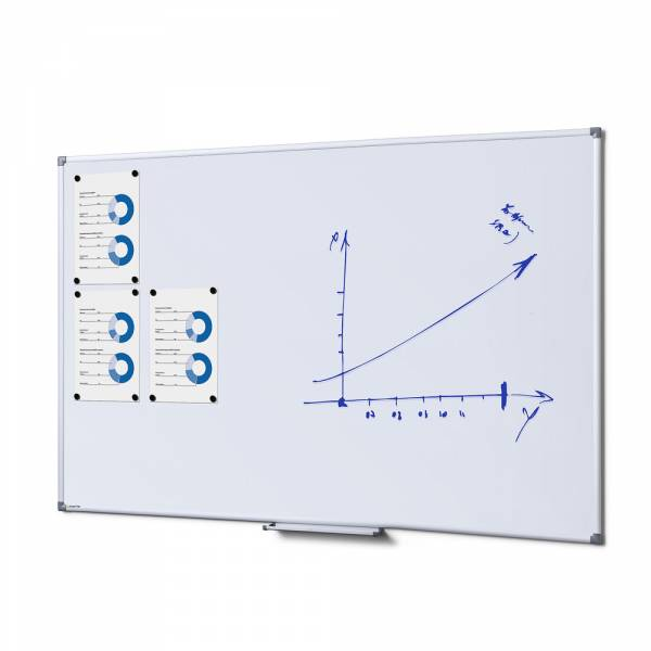 Whiteboard SCRITTO Emaille, 100x150
