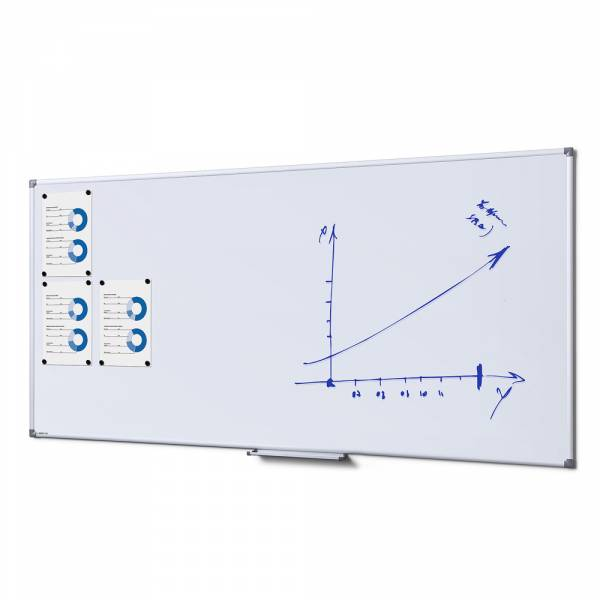 Whiteboard SCRITTO Emaille, 100x200