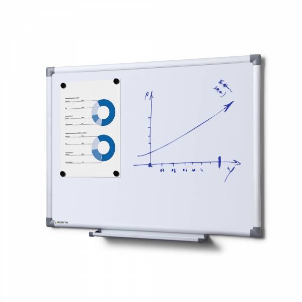 Whiteboard SCRITTO Economy, 60x45