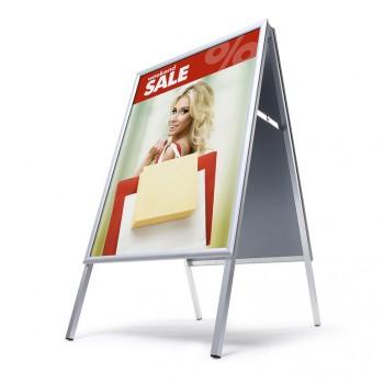 Kundenstopper Indoor 25 mm / Gehrung, 70x100