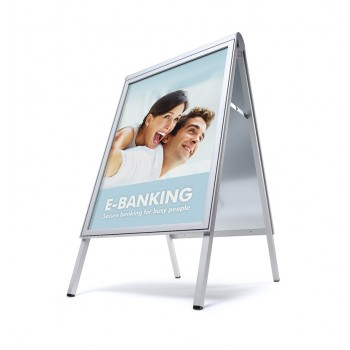 Design Kundenstopper COMPASSO ® 50x70