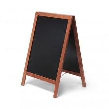 Kundenstopper Tafel Holz Economy Hellbraun (55x85)