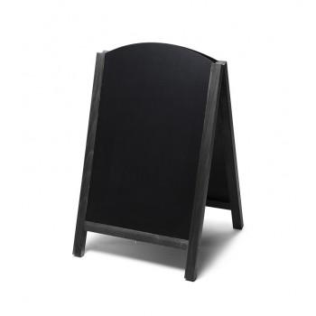 Kundenstopper Tafel Holz Fast Switch Schwarz (55x85)