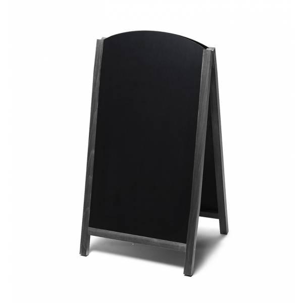 Kundenstopper Tafel Holz Fast Switch Schwarz (68x120)