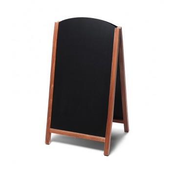 Gehwegtafel Holz, Top, teak, 68x120