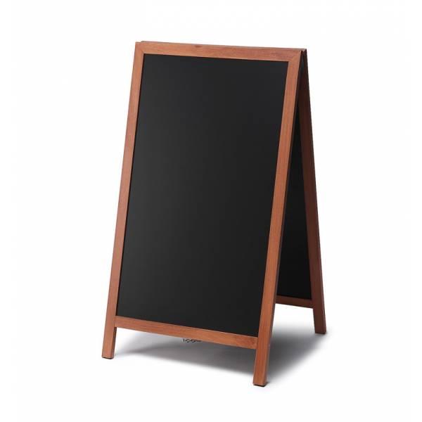 Kundenstopper Tafel Holz Hellbraun (68x120)